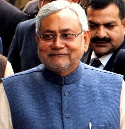 Nitish Kumar Education