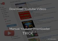 Download Youtube Videos TRICK