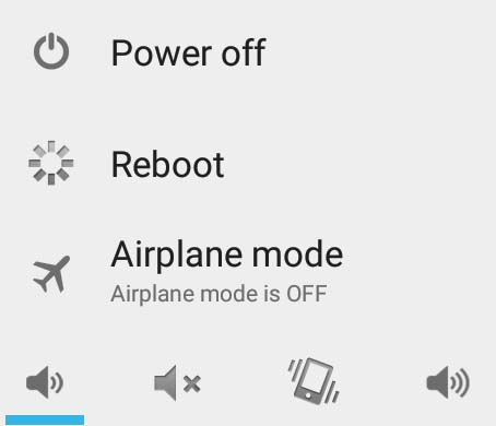 Android aeroplane mode