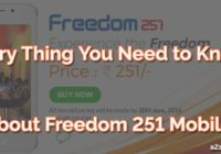 Everything ABout Freedom 251 Android Smartphone