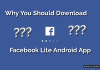 Facebook Lite Application