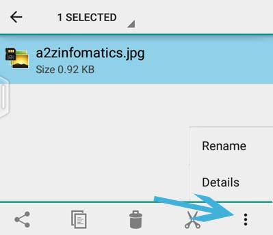 How to file rename in Android Phone