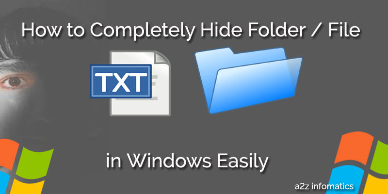 Howto Hide File Folder