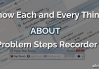 howto problem steps recorder