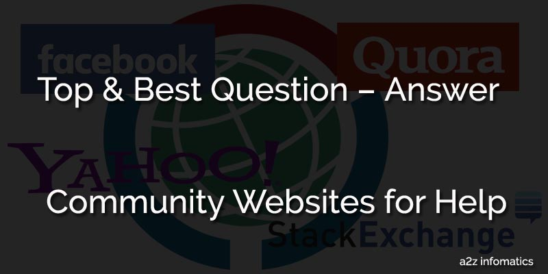 Top & Best Community Websites