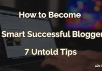 How to Become Successful Blogger