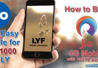 How to BUY Reliance Jio Rs 1000 4G Mobile Smartphone with VoLTE Support