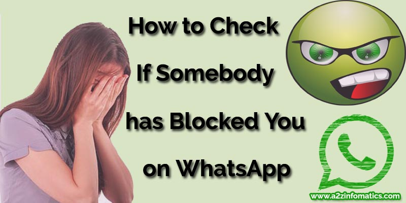 how to know if you blocked on whatsapp