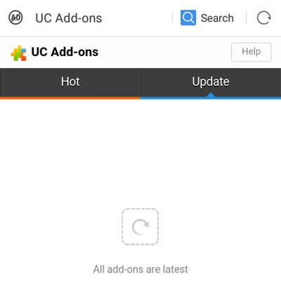 install uc browser add-ons