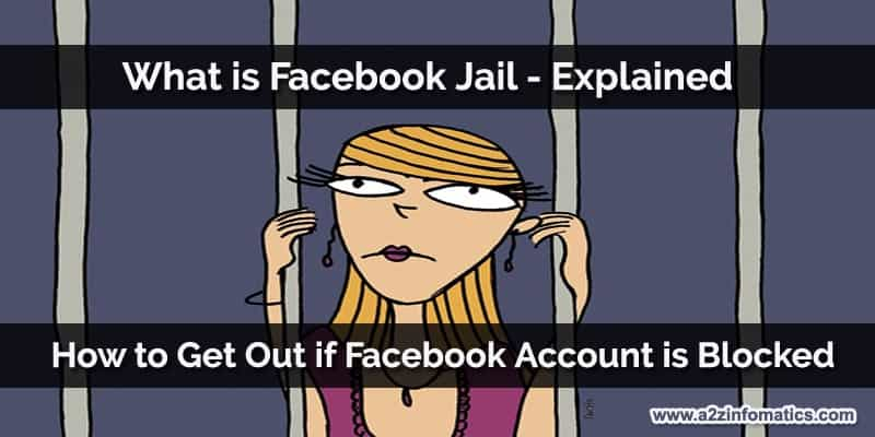 what is facebook jail explained how to get out if acount is blocked