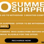 JIO Summer Surprise Offer is not ENDED Yet. Hurry – get it NOW.