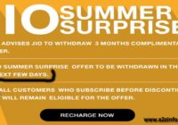 Jio Summer Surprise Offer is Available