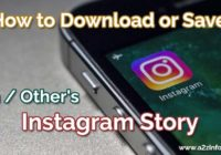 How to Download or Save Own Others Instagram Story Solved