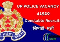 UP Police Vacancy Constable Sipahi Bharti Apply Online