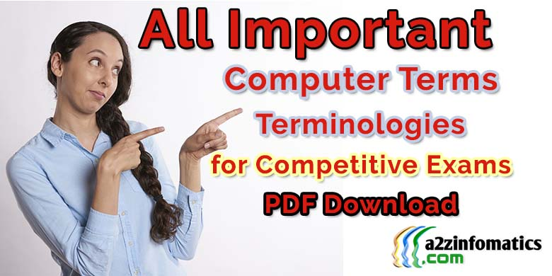 computer terms terminologies definitions dictionary pdf download