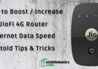 how to boost increase jiofi 4g router internet data speed tips tricks