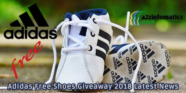 Adidas Free Shoes Giveaway 2018 Online Registration Form Link