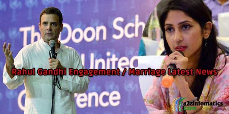 rahul gandhi marriage date engagement age latest news
