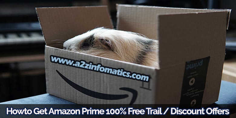 howto amazon prime video free trial account membership discount offers