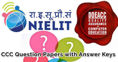 ccc question paper solved sample model test papers with answer